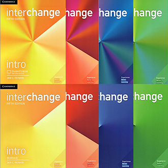 Interchange 인터체인지 Intro 1 2 3 Student book Work book (5th Ed) Cambridge 선택