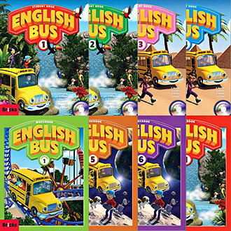 English Bus SB WB starter 1 2 3 4 5 6 + CD + DVD 선택 잉글리쉬버스 bricks