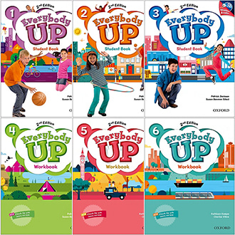 Everybody up 에브리바디업 (2nd edition) 1 2 3 4 5 6 SB WB CD 선택 Oxford