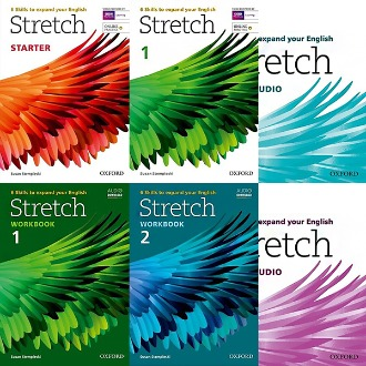 Stretch 스트레치 Studentbook / Workbook / AudioCD Starter 1 2 3 oxford 선택구매