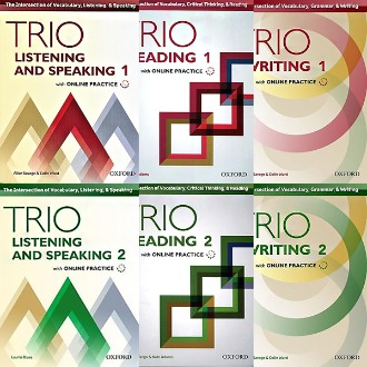 Trio Reading Writing Listening and Speaking with Online Practice oxford 선택구매