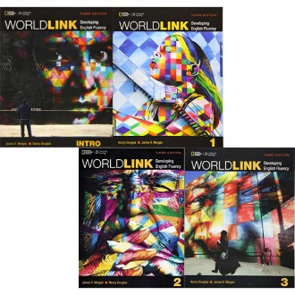 World Link Student book Work book Intro 1 2 3 월드링크 선택구매 (3rd Ed) NationalGeographic