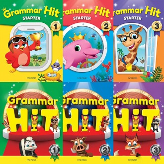 Grammar Hit / Grammar Hit Starter 1 2 3  Book + Workbook 그래머히트 선택구매 Tow ponds 투판즈