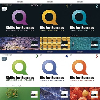 Q Skills for Success Reading and Writing Listening and Speaking Intro 1 2 3 4 5 (3rd Edition) Oxford 선택구매